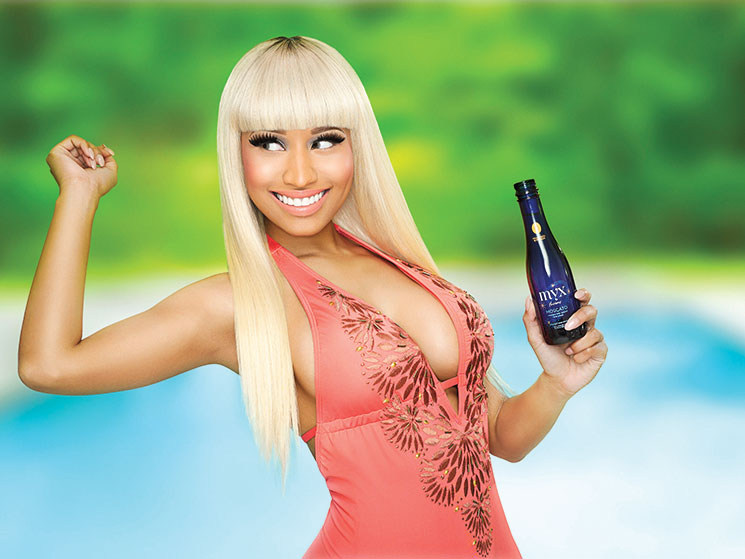 Singer Nicki Minaj got into the Moscato business.
