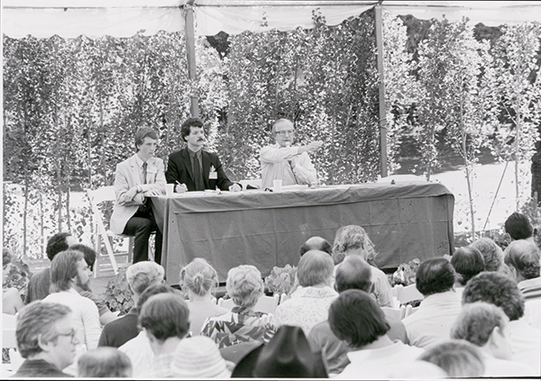 The first Napa Valley Wine Auction, in 1981