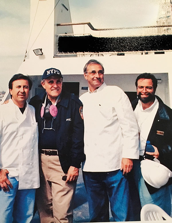 Chefs and restaurateurs got behind the 9-11 relief effort