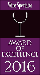 Wine Spectator Award of Excellence color