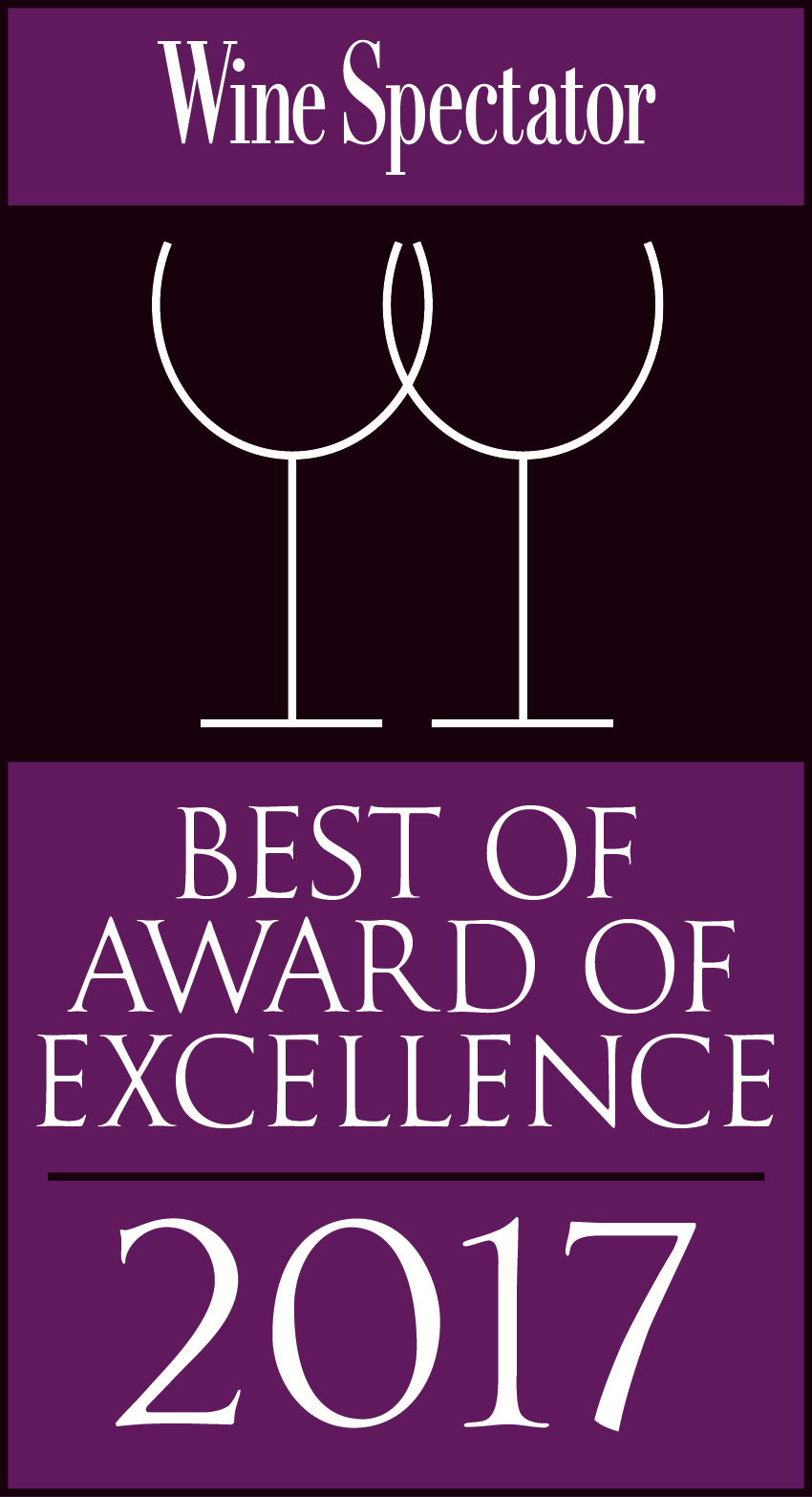 Wine Spectator Best of Award of Excellence color