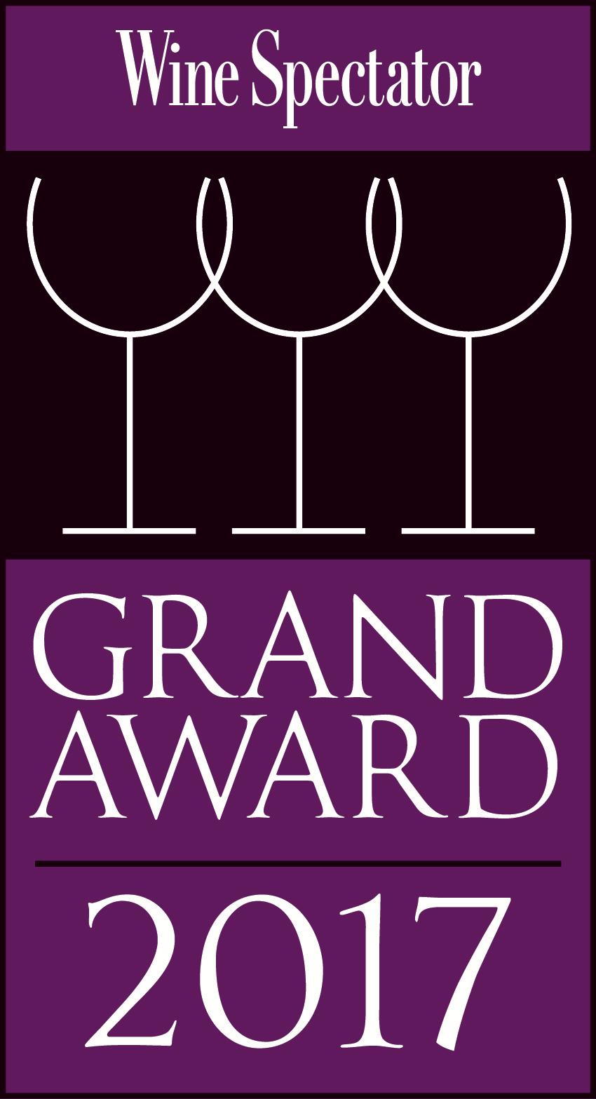 Wine Spectator Grand Award